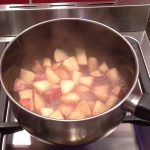 Stewed apple